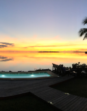 Bahamas bonefishing resort with expert fly fishing guides and upscale lodging.