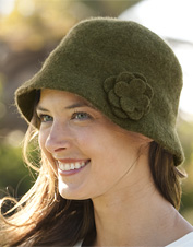 Barbour Felted Wool Cloche