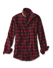 Nothing says comfort like our perfectly soft plaid flannel shirt.