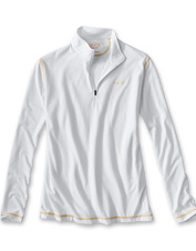 Our drirelease Zipneck Casting Shirt offers lightweight, moisture-wicking performance.