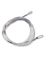 Our fly fishing wire leader with bite guard is designed for serious durability.
