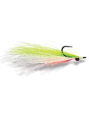This Clouser streamer fly is sure to get noticed.