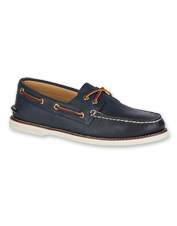 The Gold Cup Boat Shoe by Sperry is a comfortable, slip-free option on deck or dry land.