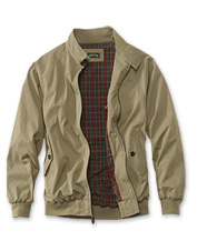 Throw on a handsome layer of comfort with our lightweight Weatherbreaker travel jacket.