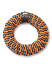 Have some fun and keep your dog's teeth clean with these durable, colorful braided dog toys.