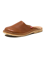 Enjoy an incredible fit and water-resistant performance in leather Blavand Clogs by DuckFeet.