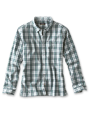 The Bowman Shirt offers moisture-wicking comfort and easy stretch, thanks to its fabric blend.