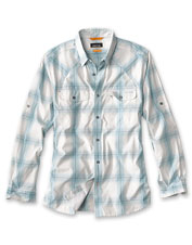 Our Swift Current Shirt offers cooling protection from the sun in an eco-friendly option.