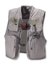 Our mesh Clearwater fly-fishing vest offers impressive features at a budget-friendly price.