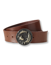 Add distinctive style to your look with our one-of-a-kind Handmade Artisan Sporting Belt.