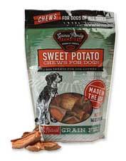 Simple, healthy, and tasty: These Sweet Potato Dog Treats will get tails wagging.