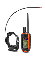 The Alpha 100 TT 15 Mini from Garmin® is a training and tracking tool designed for smaller dogs.