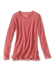 Our 1856 Crewneck Tee is comfortably casual, and organic cotton means it's easy on the planet.