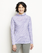 Our moisture-wicking drirelease Pullover Hoodie gets better with an appealing print.