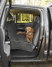 It's easy to have a dirty dog and a clean car with the Softshell Hammock Seat Protector.