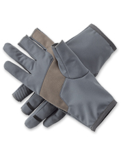 Our impressive Trigger Finger Softshell Gloves are foul-weather casting game changers.