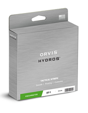 The Hydros Tactical Nymph is a fly-fishing line up to the demands of European nymphing.