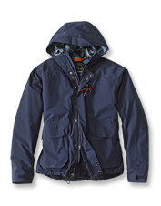 The waterproof Broomfield Jacket by Barbour stands against the harshest elements.