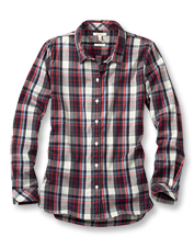 At home or on the town, the plaid Barbour Cheviot shirt is a relaxed way to show your style.