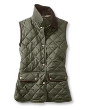 The Brimham Gilet by Barbour is an Orvis-exclusive, seasons-spanning, core-warming style.
