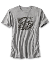 Quick-dry performance and a jumping trout graphic—this T-shirt has everything you want.