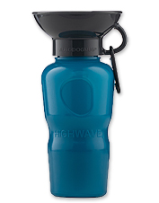Keep your thirsty dog happy and healthy with our Bowl Top Water Bottle.