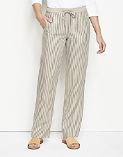 Pull on these Orvis Performance Linen Striped Pants and celebrate the arrival of summer days.