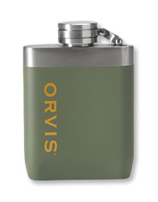 Rest easy when you carry your beverage in the leakproof, unbreakable Orvis Hip Flask.