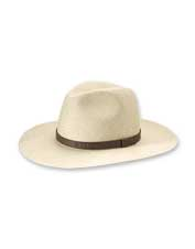 Our fedora-style Sandestin Panama Straw Hat offers comfort and protection in equal measure.