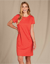 Comfortable, pretty, and eco-friendly—it's hard to beat Toad&Co's Cue Windmere II Dress.