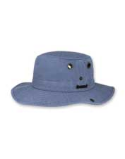 The Wanderer Hat by Tilley brings extra sun protection to the bucket-style topper anglers love.