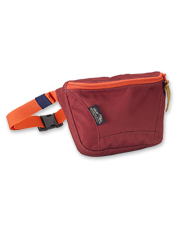 Crossbody bag or fanny pack—enjoy either in this adjustable waterproof style by United by Blue.