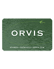 Give an Orvis Gift Card for a fly casting or shooting school—it's always a perfect fit.