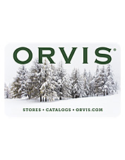 Orvis presentation Gift Cards—now in 7 designs. Always a perfect fit.