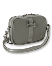Ease your mind and enjoy your travels carrying the Pacsafe Citysafe CX Square Crossbody bag.