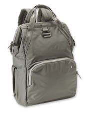 Protect your valuables on the go, within the Citysafe Antitheft Backpack by Pacsafe.
