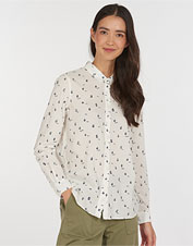 Feminine and flattering, the Barbour Safari Shirt boasts a playful print to wear anywhere.