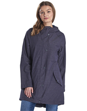 The waterproof Shoreside Jacket by Barbour is ready to layer against a drizzle or downpour.