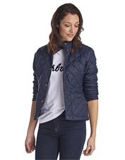 Pack it or wear it: The Rebecca Quilted Jacket by Barbour is an easy-to-carry travel layer.