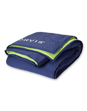 The Orvis Eco-Adventure Throw blanket is the one you'll choose for every outdoor adventure.