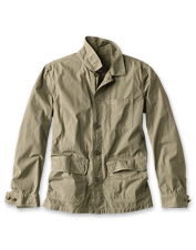 The Quenton Casual Jacket by Barbour is lightweight, but substantial enough for summer nights.