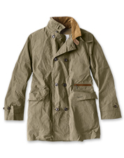 The Haydon Casual Jacket by Barbour nods to military styling and silhouettes of years past.