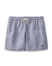 Sand, surf, deck, or dock: Dress for the occasion in these Geo Print Swim Shorts by Barbour.