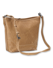 The Melissa Small Hobo Bag by Frye boasts gorgeous, rich leather and a roomy interior.