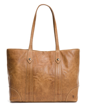 The timeless Melissa Shopper tote from Frye earns extra character from distressed leather.