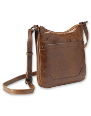 The adjustable Melissa Swingpack Crossbody Bag by Frye offers plenty of versatility on the go.
