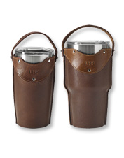 Add a rustic touch—and a handle—to your morning beverage with this Leather Tumbler Sleeve.