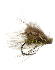 Hungry fish can't resist slurping up this realistic CDC mayfly Tactical Bubble Emerger.
