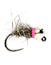 The Tactical Tungsten Bomb Sob-Czech is a grubby, attention-grabbing fly that sinks down deep.