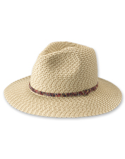 Pack this fedora-style Haworth Knit Hat to keep the sun off your face as you explore.